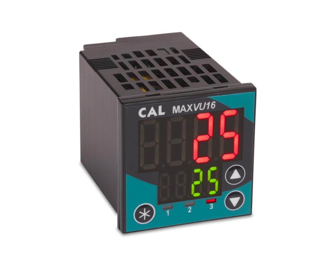Controladores de temperatura de MaxVu de CAL