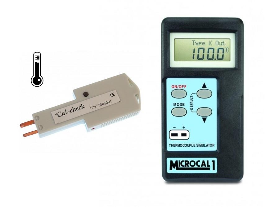 Simuladores de calibración de alta precisión termopar / damas