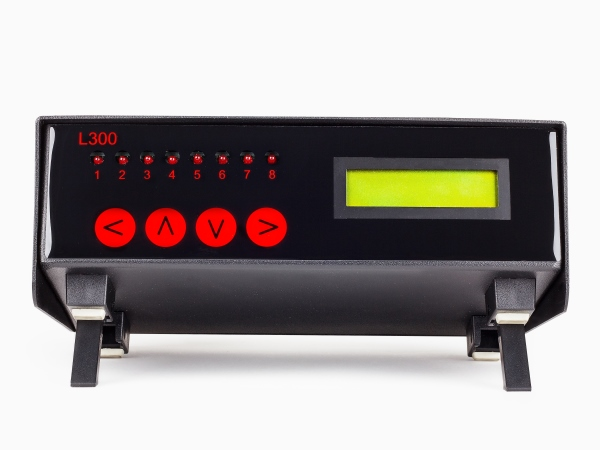 L300 8 zona temperatura alarma / controlador con entradas Pt o TC