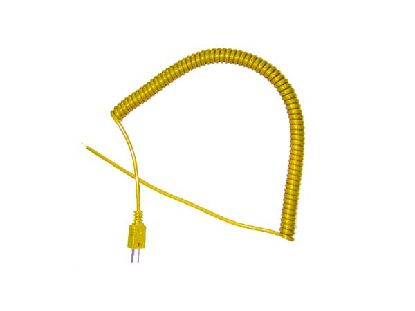 Retractable Curly Lead ANSI