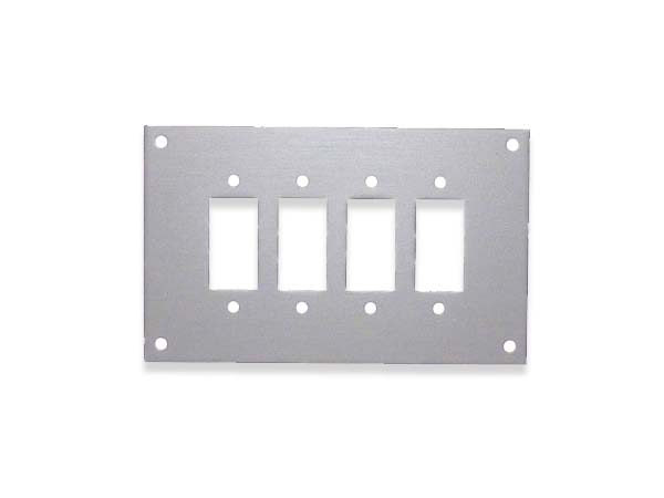 Panels for Fascia Sockets with Stainless Steel Fascia Bracket (SSPF)