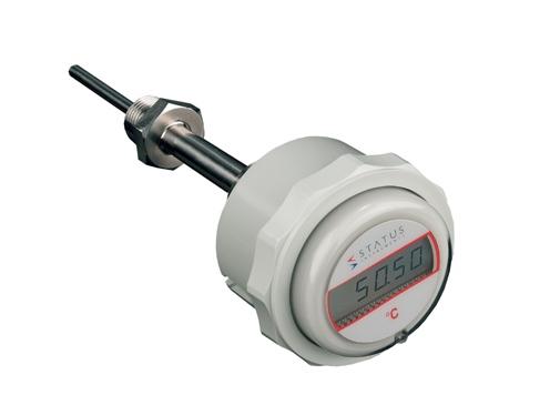 DM640 Serie pilas termómetro