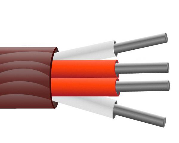 Caucho de silicón aisló el Cable de Sensor PRT / alambre