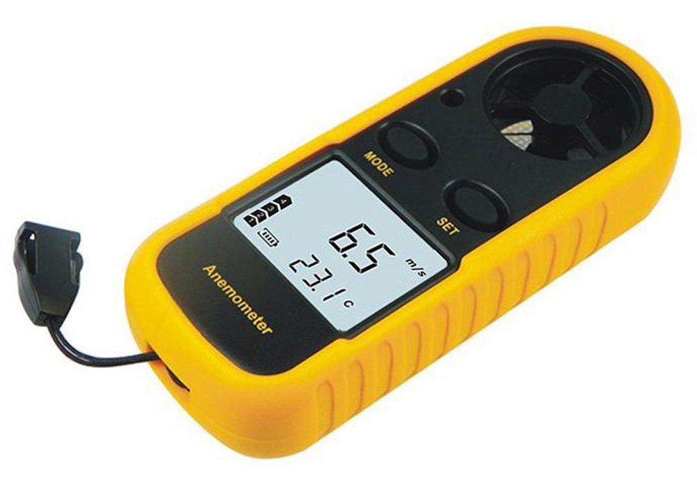 GM816 Caliente alambre anemómetro medidor de viento anemómetro digital anemómetro