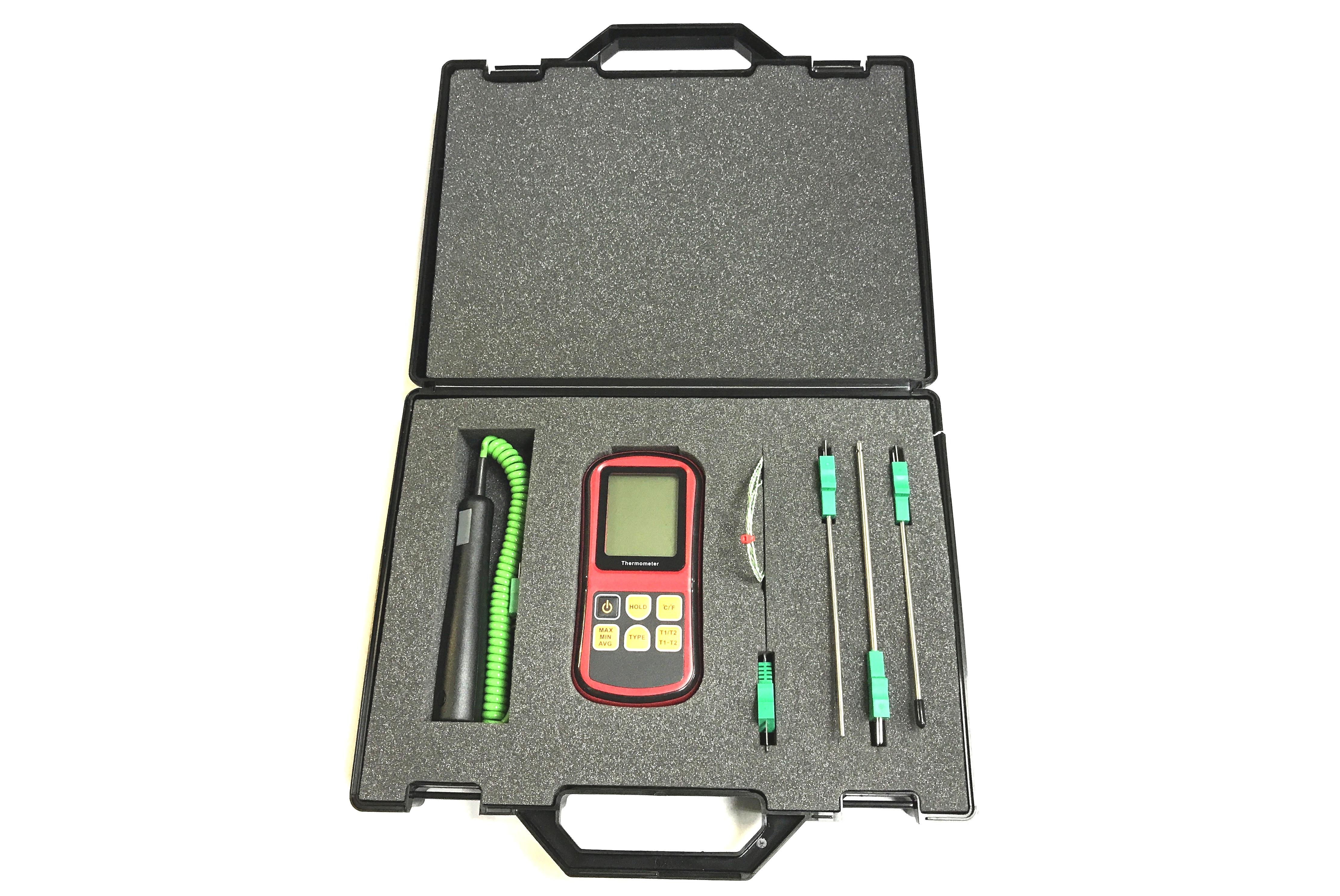 Kits de termopar con medidor y sondas