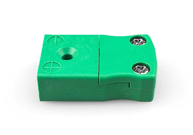 Conector en línea de termopar en miniatura IEC