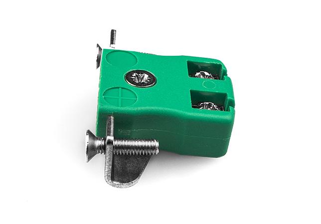 Montaje en panel de alambre rápido en miniatura con soporte de acero inoxidable IEC