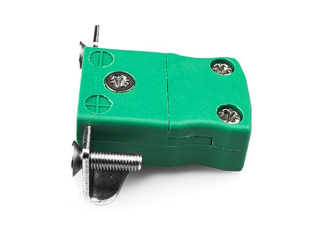 Montaje en miniatura en panel con soporte de acero inoxidable IEC