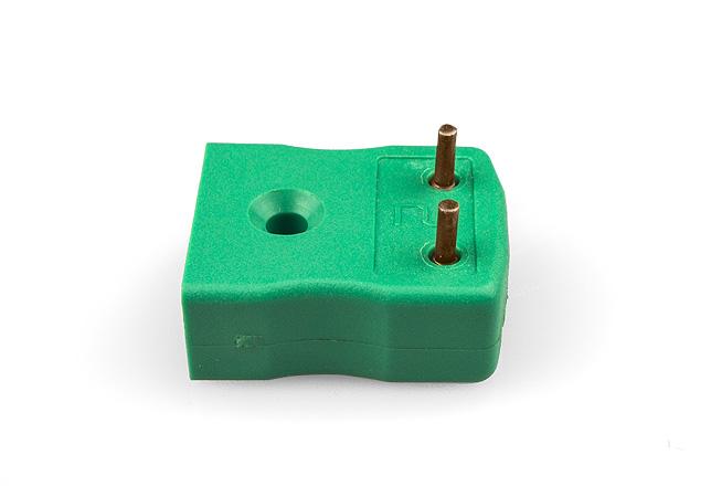 Zócalo de termopar de montaje de PCB IEC con pasadores de latón o chapados en estaño