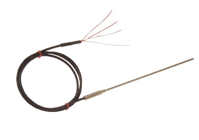Sonda Pt100 con el cable de extensión con aislamiento mineral