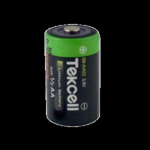 Reemplazo de la batería de litio AA 1/2 para su uso con la gama Lascar EL Data Logger