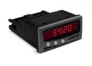Estado DM3420 - Medidor de panel de entrada de corriente / voltaje con opciones de salida