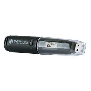 Lascar EL-USB-2-LCD - Registrador de datos de temperatura y RH con USB y pantalla