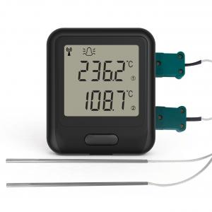 Lascar EL-WiFi-DTC Wifi Sensor de registro de datos de sonda termopar de doble canal