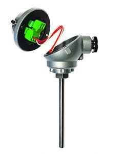Estado HTR200 Miniatura en cabeza RTD / Transmisor de temperatura de cable deslizante