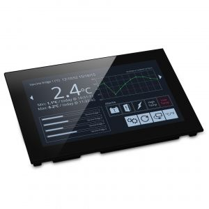 """Pantalla Lascar PanelPilot SGD 70-A - 7"""" con interfaces analógicas, digitales, PWM y seriales"""