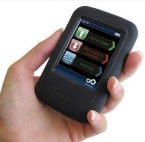 Pad-BOOT-BLACK Carcasa de goma protectora para Lascar EL-DataPad y EL-EnviroPad-TC