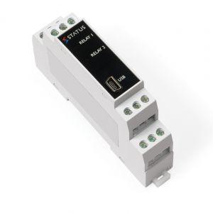 Estado SEM1636 - Amplificador de disparo con motor de bucle con salida de relé dual