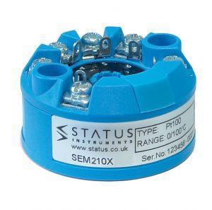 Estado SEM210X PC Programable ATEX transmisor de temperatura de entrada universal aprobado