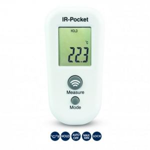 IR-Pocket Thermometer - infrared thermometer (non-medical use only)