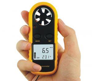 GM816 Anemómetro de alambre caliente Anemómetro de viento anemómetro / Anemómetro digital