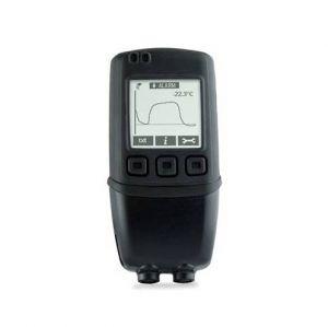 Lascar EL-GFX-DTP+ Registrador de datos de termistor de doble canal de alta precisión con pantalla gráfica y alarma audible