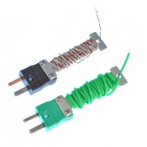 Cable PFA tidy IEC Exposed Junction Termopar con Mini enchufe equipado - Tipos K,T