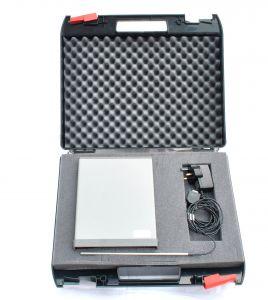 Caja de equipo ABS negro