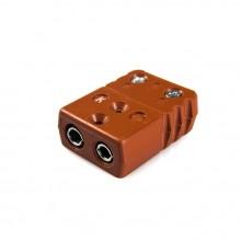 Alta temperatura termopar estándar conector conector STC-J-F-HTP tipo J