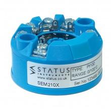 SEM210X PC programable certificado ATEX transmisor de temperatura de entrada universal