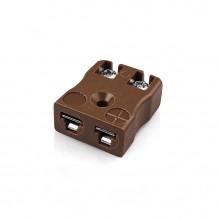 Miniatura tipo de IM-T-FQ zócalo alambre rápido conector termopar T IEC