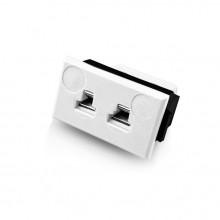 Miniatura Rectangular termopar conector Fascia toma FMTC-CU-FF tipo Cu