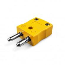 Tipo de termopar estándar conector enchufe como-K-F K ANSI