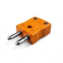 Tipo de termopar estándar conector como Plug-N-F N ANSI