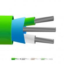 Aislamiento de PVC tipo K Mylar termopar Cable blindado / hilos (IEC)