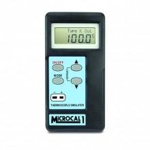 MicroCal 1 Plus simulador termómetro (tipo K, J, T, R, N, S, E)