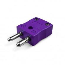 Tipo de termopar estándar conector enchufe AS-E-F E ANSI