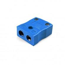 Tipo de termopar estándar conector en línea toma JS-K-F K JIS