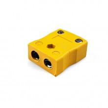 Tipo de termopar estándar conector en línea toma JS-J-F J JIS