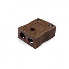 Termopar estándar conector en línea toma JS-T-F tipo T JIS